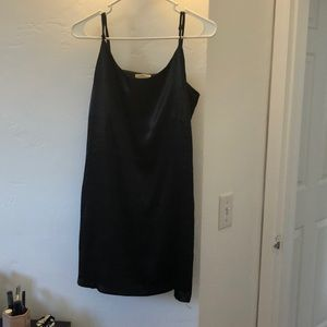 Silence and Noise Black Dress